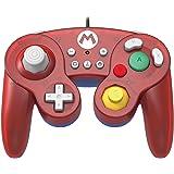 HORI Battle Pad Gamecube Style Controller - Mario Edition for Nintendo Switch