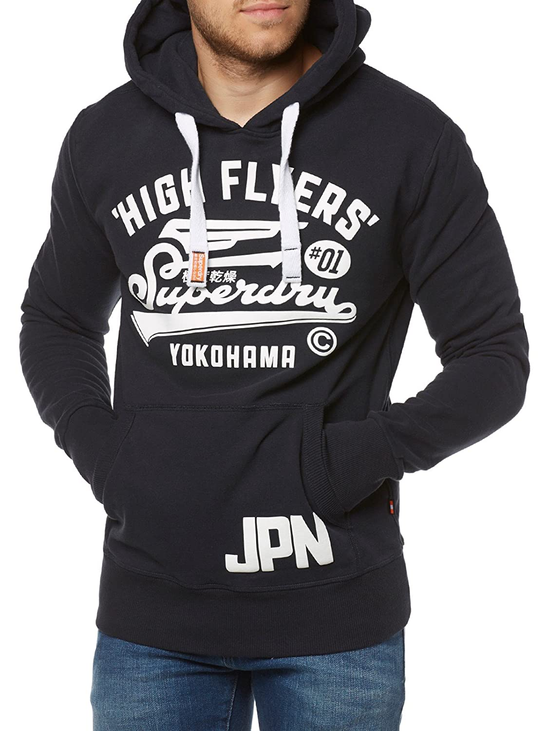 Superdry Herren Sweatshirt High Flyers Hood