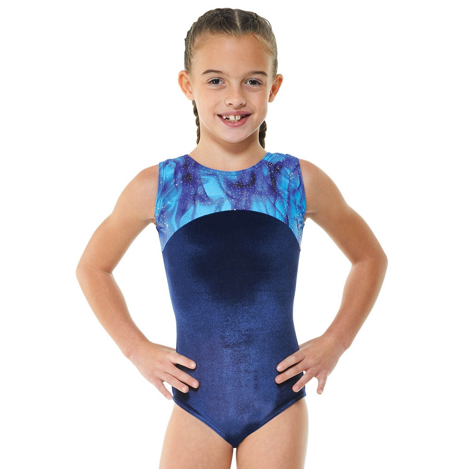 Tappers & Pointers Sleeveless Gymnastic Leotard Gym22