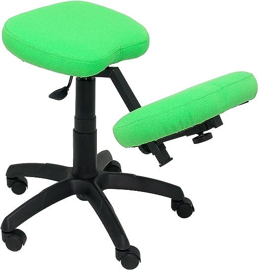 Piqueras y Crespo Lietor Taburete de Oficina Verde