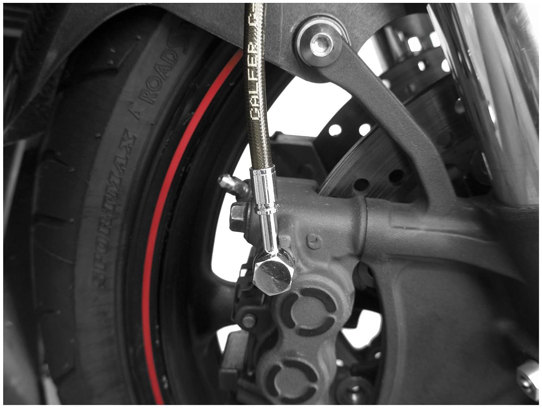 Manufacturer: Galfer Brakes BRAKE KIT REAR-SMK YZF R6S 06-08 2004 Yamaha YZF-R6 Brake Line Kit Smoke