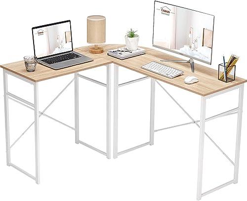 L-Shaped Computer Desk Corner Desk Office Desk Work Table Study Desk PC Laptop Workstation