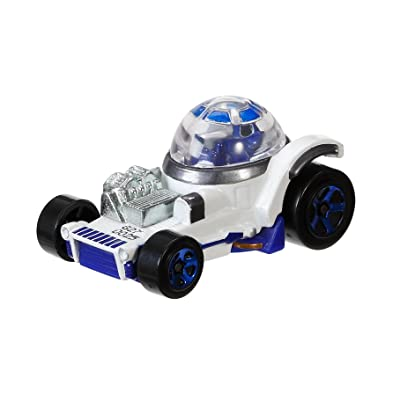 Hot Wheels Star Wars Character Car, R2-D2: Toys & Games