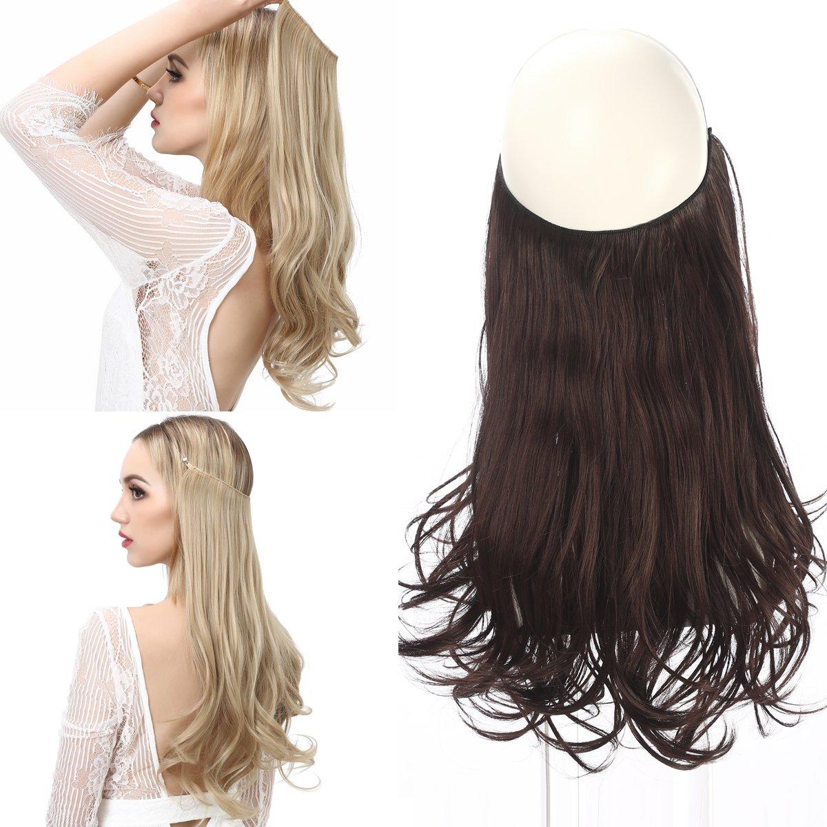 Amazon Sarla 14 16 18 43oz Synthetic Wavy Halo Hair