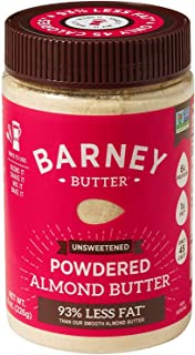 product image for BARNEY Powdered Almond Butter, Unsweetened, Paleo, KETO, Non-GMO, Skin-Free, 8 Ounce