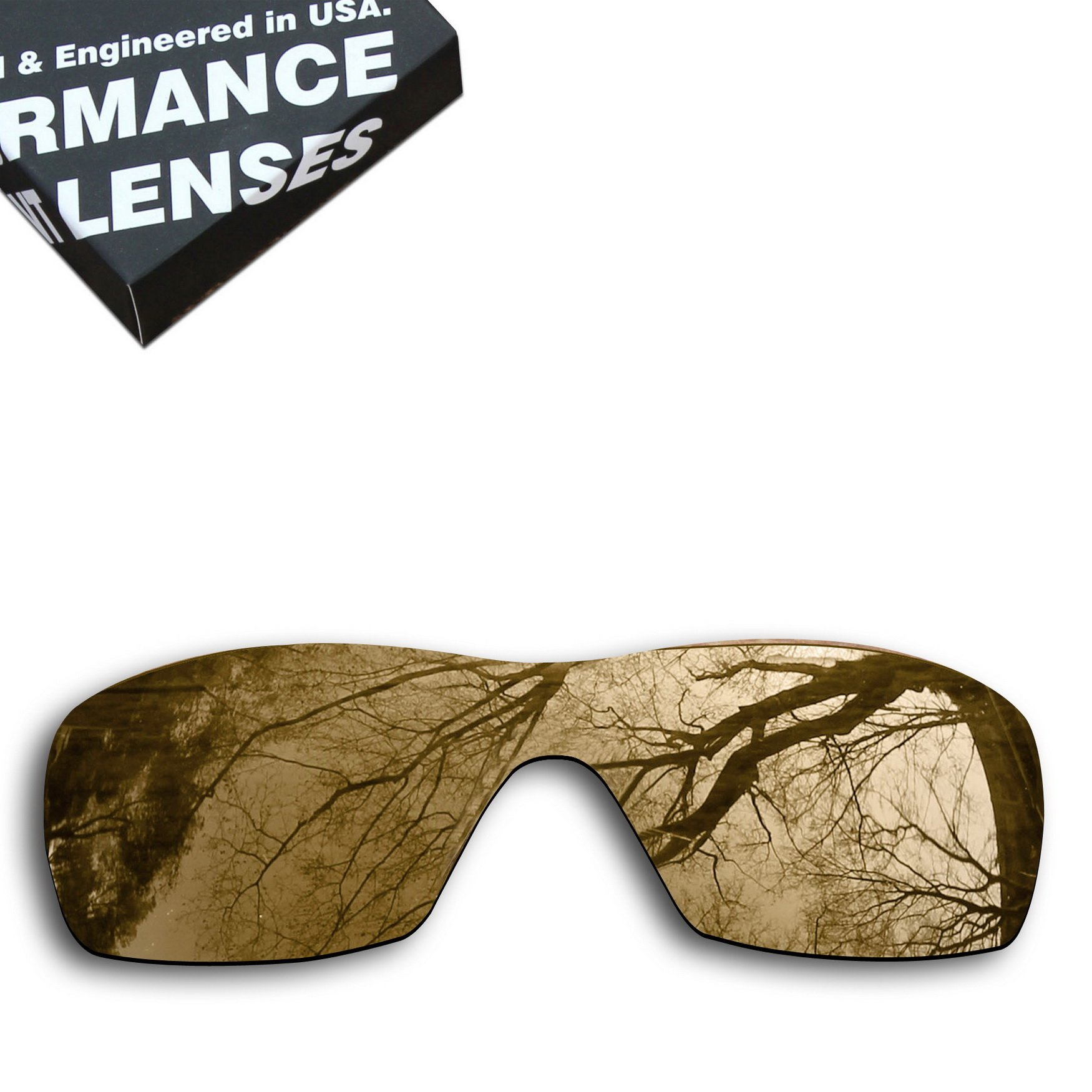 ToughAsNails Polarized Lens Replacement for Oakley Dart Sunglass - More Options