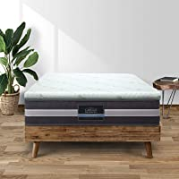 Giselle Bedding Cool Gel 7-Zone Memory Foam Mattress Topper w/Bamboo Cover 5cm - King