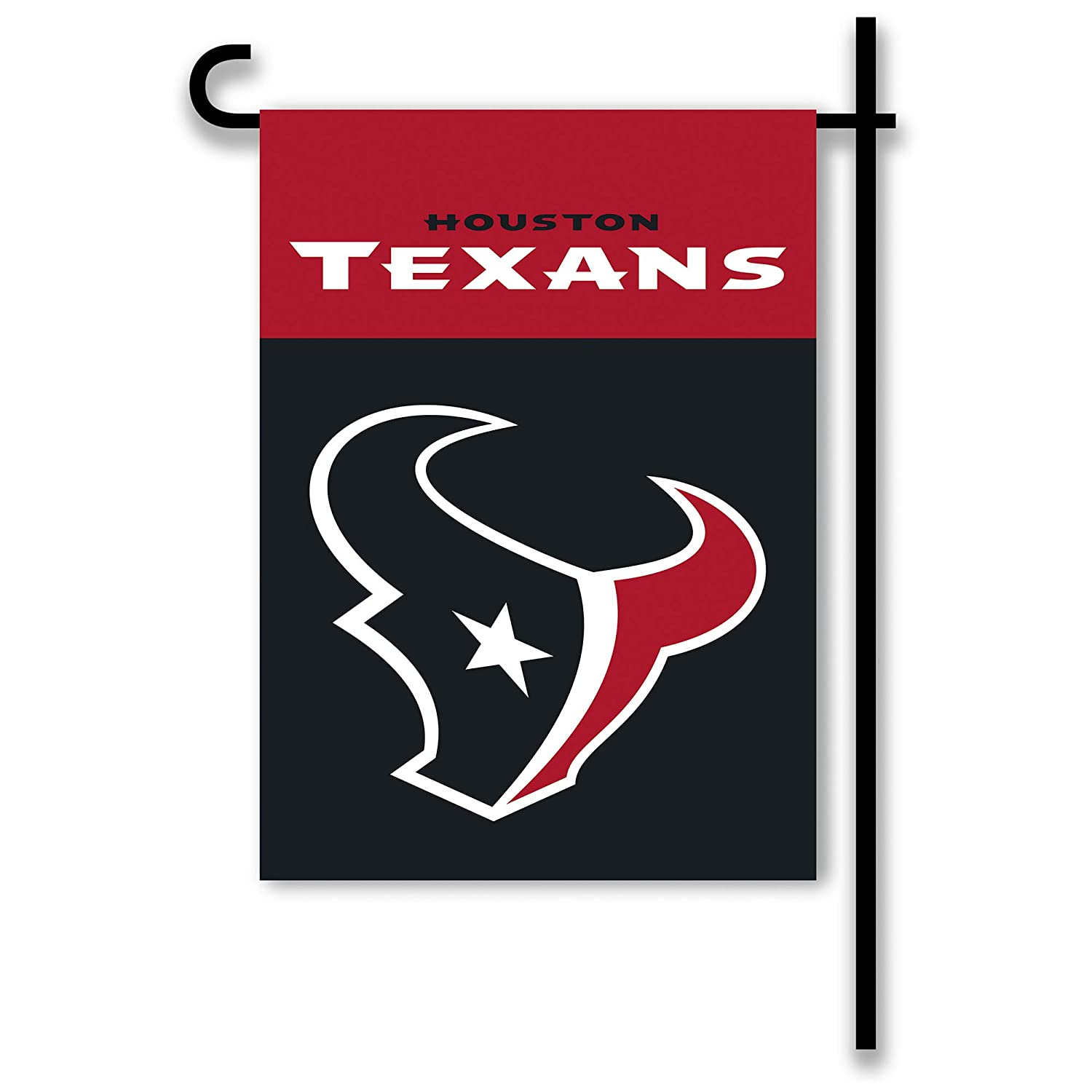 NFL Houston Texans 2-Sided Home/Yard Flag (13' x 18'), Navy, BSI Products Inc. 70863B