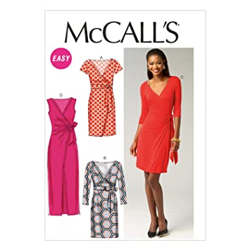 McCall Pattern Company McCalls MC 6884 E5 (14-16-18-20-22 ...