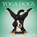 Yoga Dogs 2018 12 x 12 Inch Monthly Square Wall Calendar, Animals Humor Dog (Multilingual Edition)