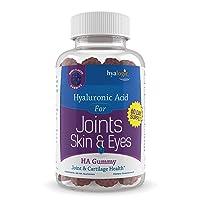 Chewy HA Gummies by Hyalogic – Mixed Berry Flavor Hyaluronic Acid Gummies – Gluten-Free...