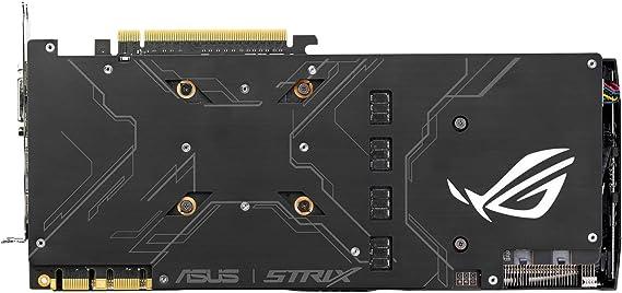 ASUS STRIX-GTX1080-A8G-GAMING - Tarjeta gráfica (Strix, NVIDIA ...