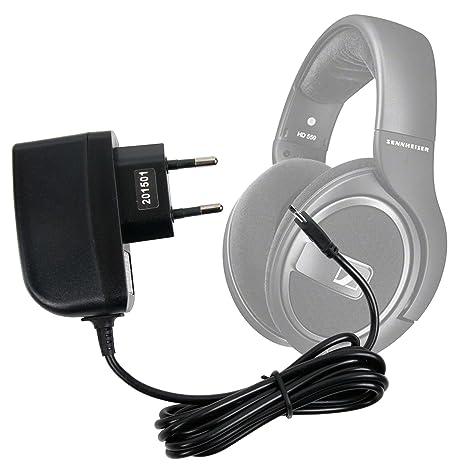 DURAGADGET Cargador (2 Amperios) para Auriculares Sennheiser HD 4.40 BT Wireless, HD 4.50 BTNC Wireless, RS118-8: Amazon.es: Electrónica