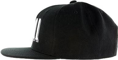 timeless design a2c10 b475a Amazon.com  Snapback Netflix Chill Hat - Embroidered Adjustable Black White  Baseball Cap  Clothing