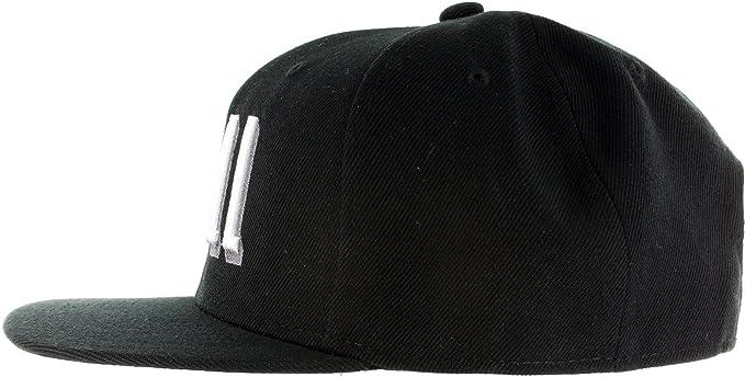 4ee895cf8b819 Amazon.com  Snapback Netflix Chill Hat - Embroidered Adjustable Black White  Baseball Cap  Clothing