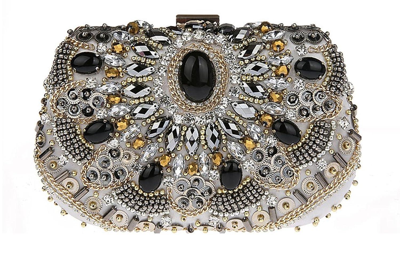 Snowskite Women's Evening Clutch Bags New Design Gift Womens Crystal Rhinestone Bag