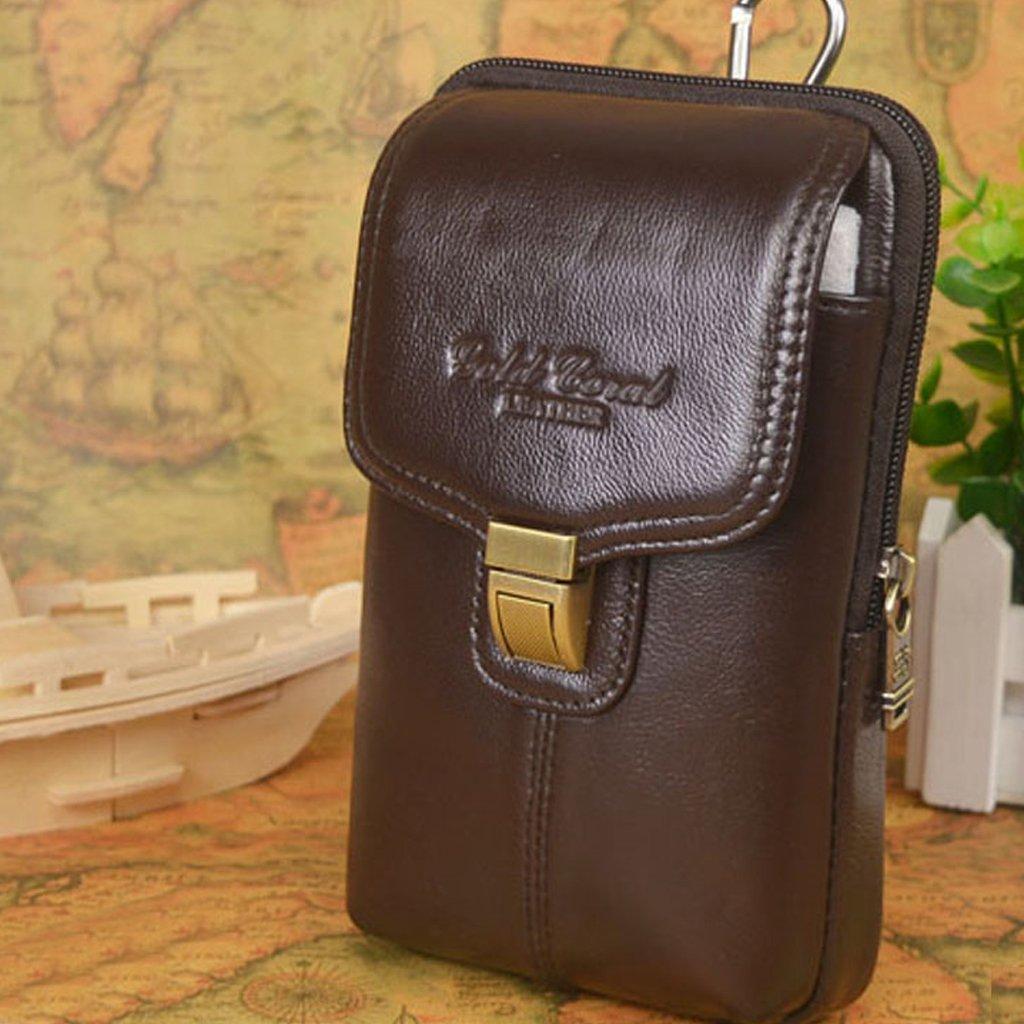 Dolity PU Leder Aufbewahrungsbox Tasche von Leben Tasche für Telefone KROTitkarte
