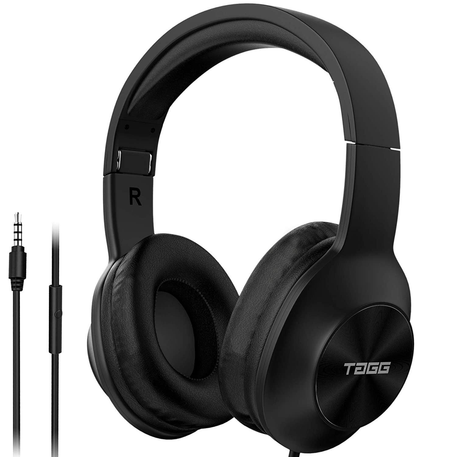 TAGG SoundGear 700 over Ear Wired Headphones with Built-in
