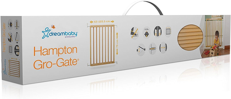 Dreambaby Cancelletto di sicurezza Hudson Gro-Gate Pu/ò essere dipinto con qualsiasi colore 63-103,5cm