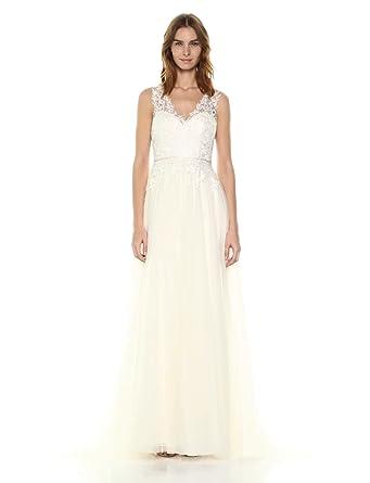 f0c16773e9 Jenny Yoo Women's Savannah Bridal Gown at Amazon Women's Clothing store: