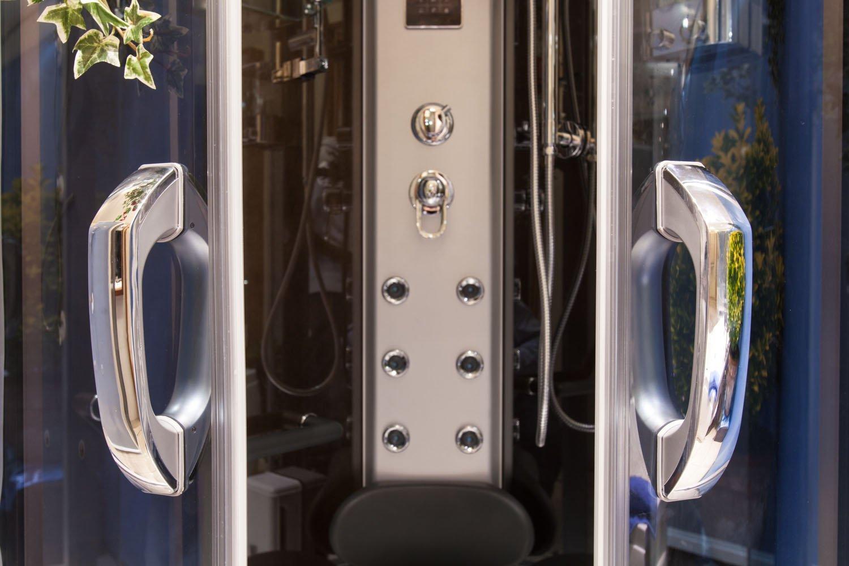 Eden box doccia idromassaggio con sauna bagno turco e