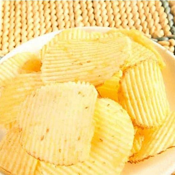 IPOTCH Utensili da Taglio Ondulati della Cucina della Patata della Taglierina di Pane Ondulata della Muffa del Sapone di 2 Pezzi per La Casa