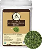 Naturevibe Botanicals Organic Dried Fenugreek Leaves (Kasoori Methi), 1 ounce (28gm) | Non-GMO and Gluten Free | Used…