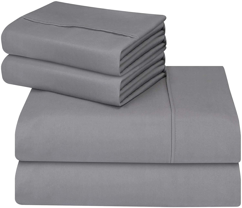 Utopia Bedding - Juego de cama de - Suave y resistente a las manchas. (