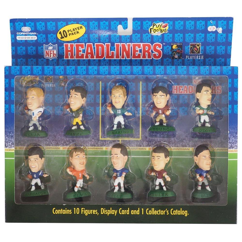 Corinthian(コリンシアン) NFL ヘッドライナーズ 1996 エディション NIB フィギュア 10 プレイヤーパック - [並行輸入品]   B071VW1YLT