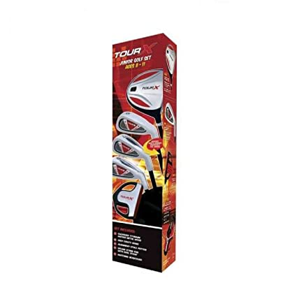 Amazon.com: Los Comerciantes, de golf Tour X Junior Set con ...