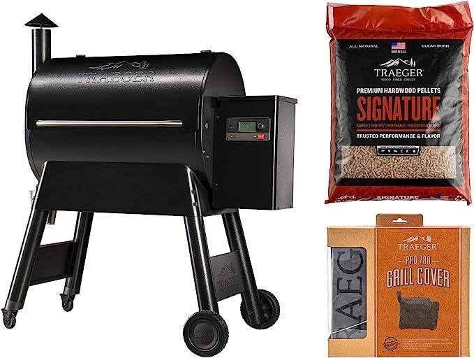 Traeger Grills Pro Series 780 Wood Pellet Grill and Smoker - Best Versatile Combo