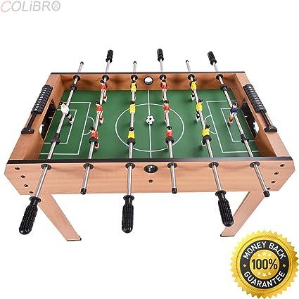 Colibrox 37 Futbolin De Mesa Regalo De Navidad Juego Arcade De