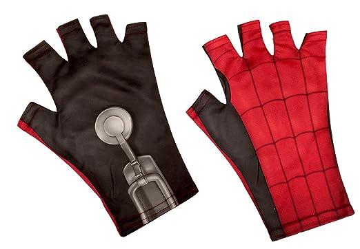 Amazon.com: Rubies traje de Spider-Man caseros niño guantes ...