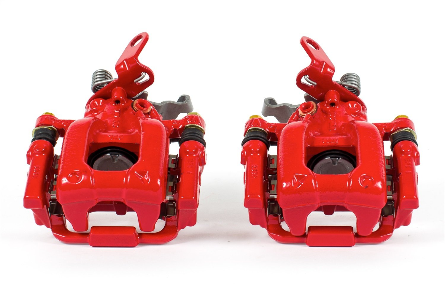 Power Stop S6384 Red Powder-Coated Performance Caliper