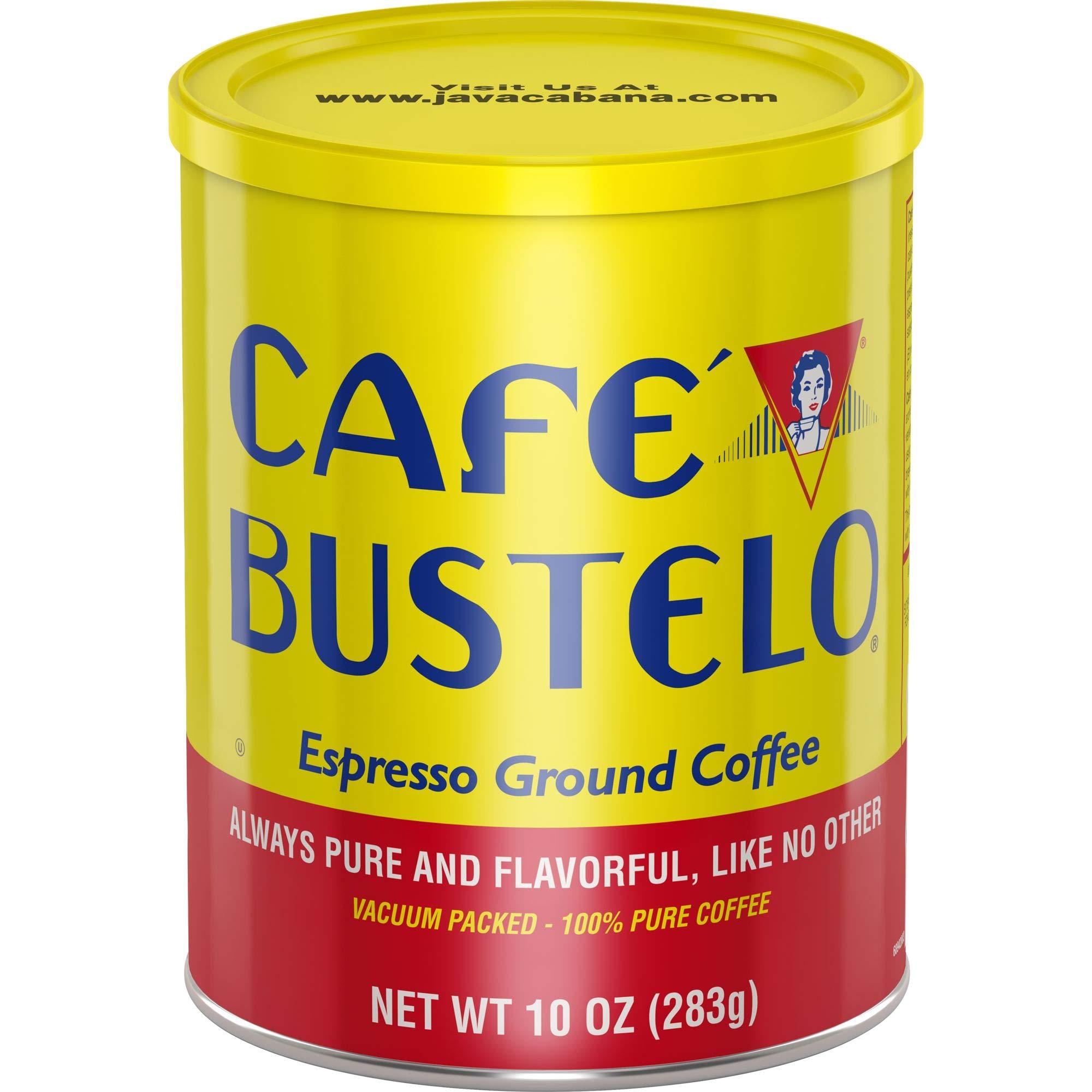 Café Bustelo Espresso Dark Roast Ground Coffee, 10 Ounces