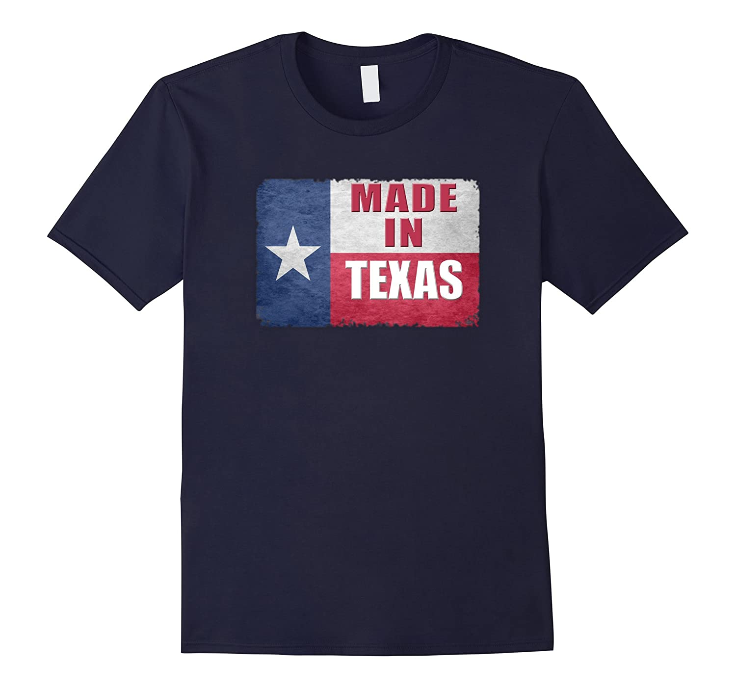Made In Texas Vintage State of Texas Flag T-Shirt-FL