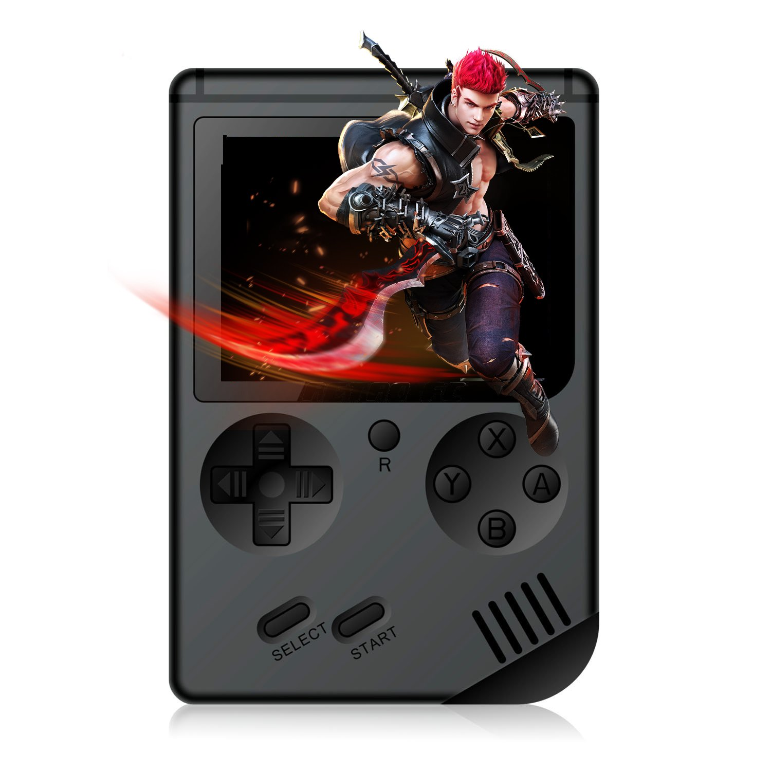 Spmywin Handheld Game Console, 3 Inch Retro Game Player 168 Classic Games,Rechargeable Battery,Birthday Presents for Children.