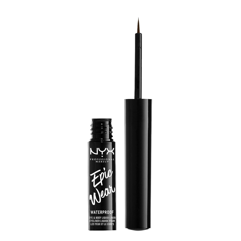 NYX PROFESSIONAL MAKEUP Epic Wear Liquid Liner, Brown