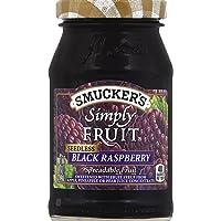 Smucker's Simply Fruit Seedless Black Raspberry, 10 oz