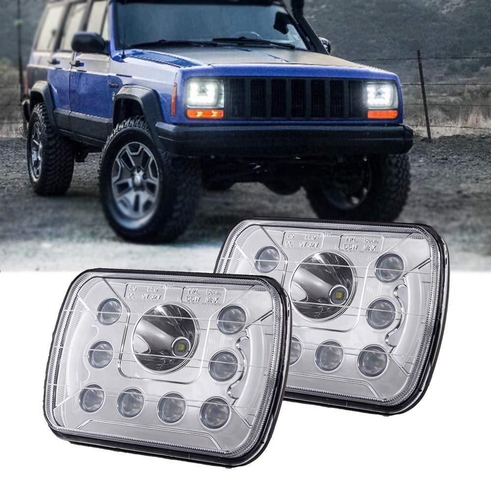 Pair 5x7 6x7 High Low Beam Led Headlights For Headlight Wiring From China Bestselling Motorcycle Jeep Wrangler Yj Cherokee Xj H6054 H5054 H6054ll 69822 6052 6053 With Angel Eyes Drl