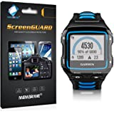 3 x Membrane Screen Protectors for Garmin Forerunner 920 XT - Crystal Clear, Retail Package, Installation Kit