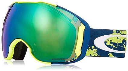 61852895f5 Oakley Airbrake XL Men s Snowmobile Goggles - Arctic Fracture Retina Prizm  Jade Iridium Large