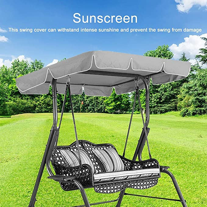 Waterproof Swing Top Cover Outdoor Rainproof Durable Anti Dust Protector Garden Tool All-purpose Covers Household Merchandises