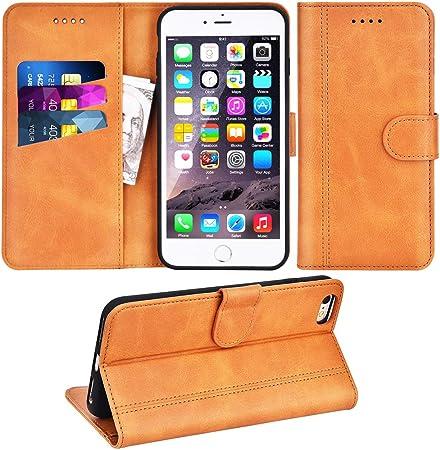 Adicase Coque iPhone 6 Plus Housse Etui Cuir Portefeuille Case pour Apple iPhone 6 Plus / 6S Plus 5,5
