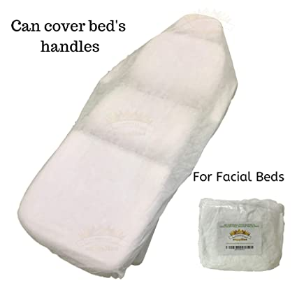 Gold Cosmetics Supplies 10 Ct Disposable Elastic Fitted Bed Sheets