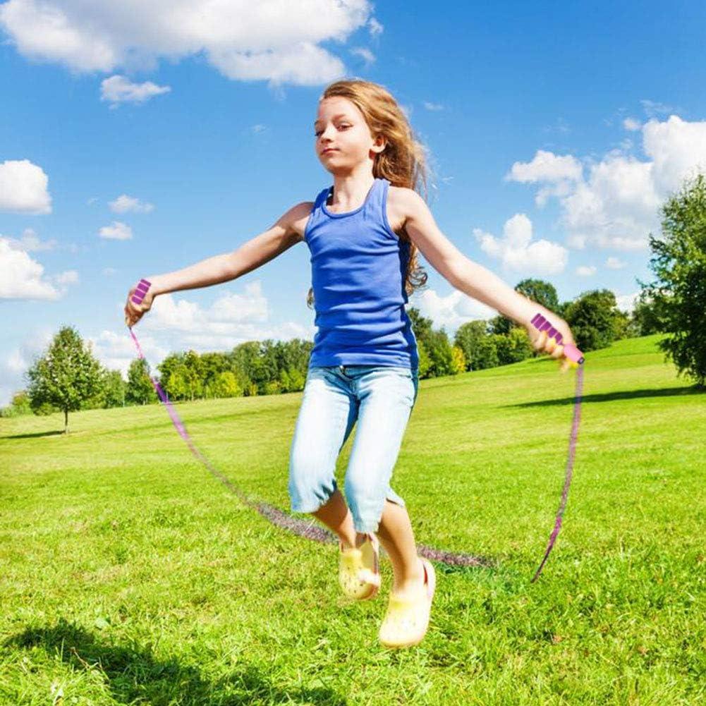 Juego Escolar Actividad al Aire Libre Dsaren Cuerda con Contador Jump Rope Cuerda para Saltar Ajustable para Entrenamiento Adelgazamiento