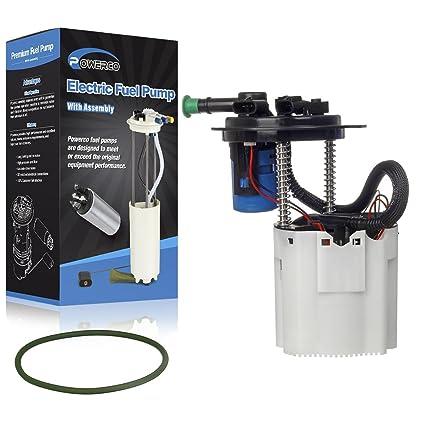Amazon com: POWERCO Electric Gas Fuel Pump Module Assembly