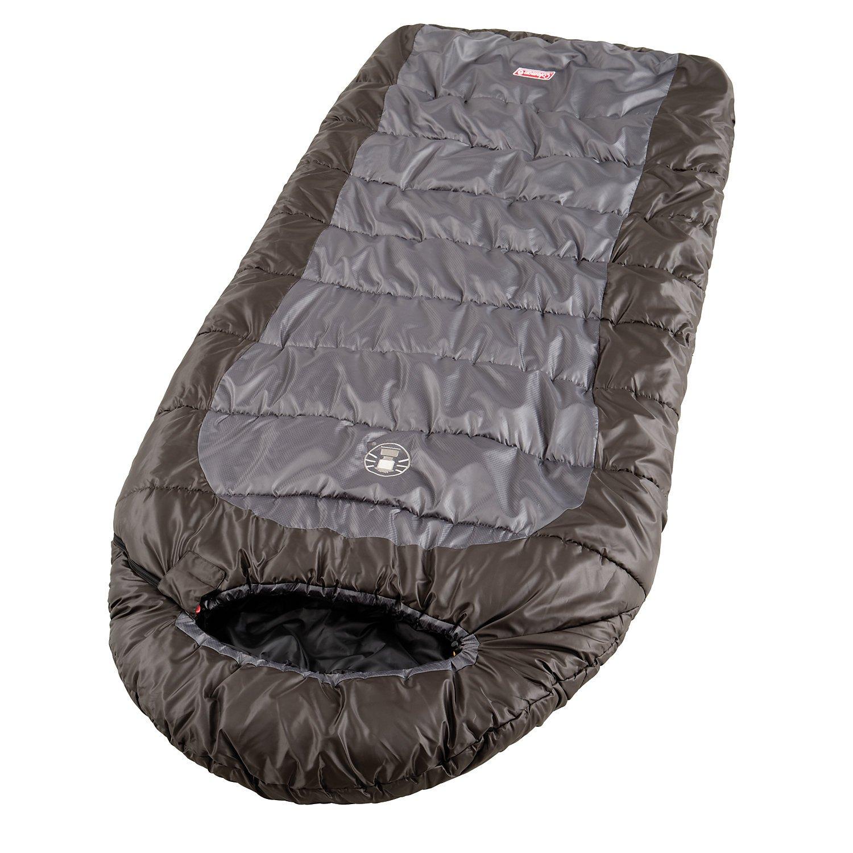 Coleman Sleeping Bag Big Basin Rectangular Indoor Outdoor 2 Season Extralong 220 X 85 Cm Comfort Temperature 7 C Amazoncouk