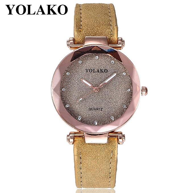 Darringls_Reloj YOLAKO YL02,Reloj de Cuarzo de aleación analógico Casual para Mujer Hombre Unisex Retro Relojes para Unisex Reloj de Pulsera Elegante: ...