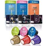 Gourmesso Latin American Selection - 60 Coffee Capsules for Nespresso Original Line Machines | Fairtrade coffee